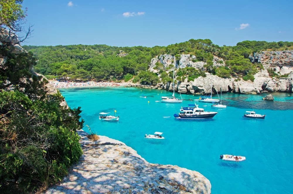 Viajando a Menorca