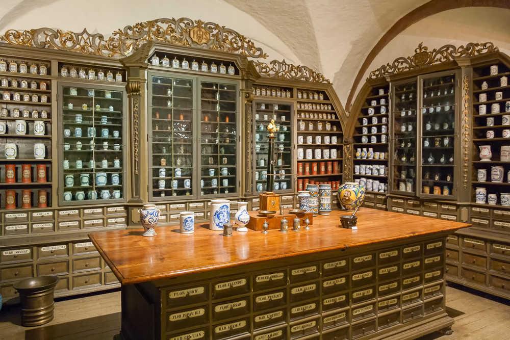 Un viaje por las farmacias más antiguas de Europa